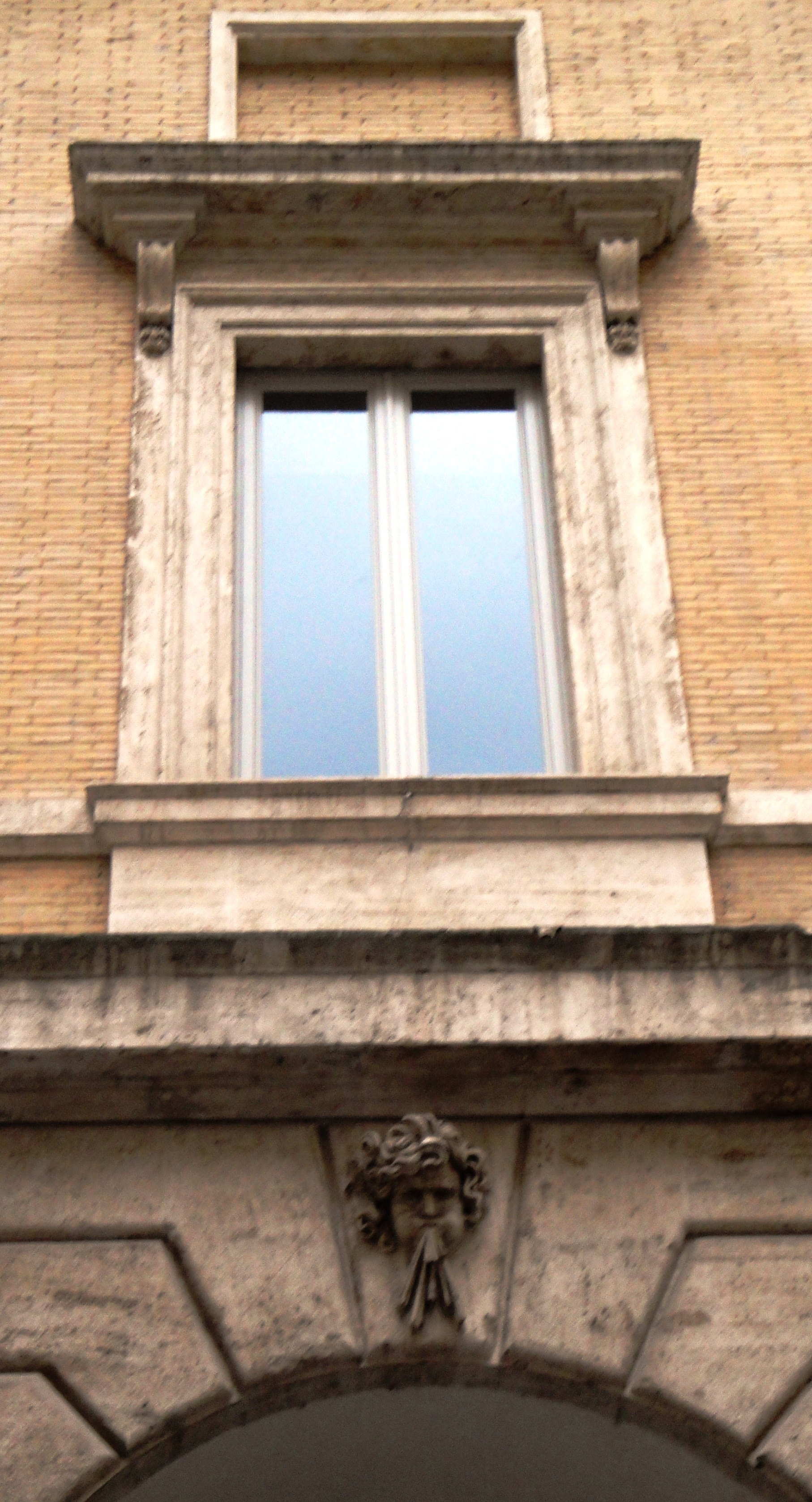 Exterior Of Palazzo Braschi Window ...